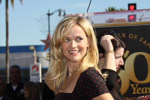 Reese Witherspoon Honored with a Star on the Hollywood Walk of Fame