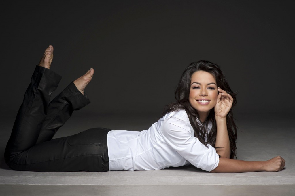 Fernanda Brandao beim Fotoshooting