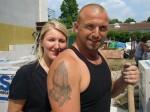 Ela Popic (23), Jonny Berisha (36) aus Mönchengladbach