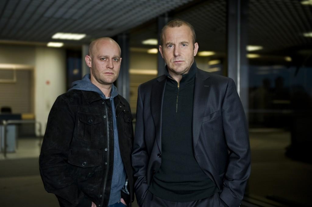 JüŸrgen Vogel (l.) und Heino Ferch (r.)