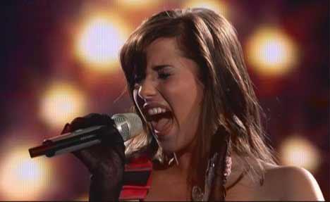 Sarah-Engels mit viel Stimme
