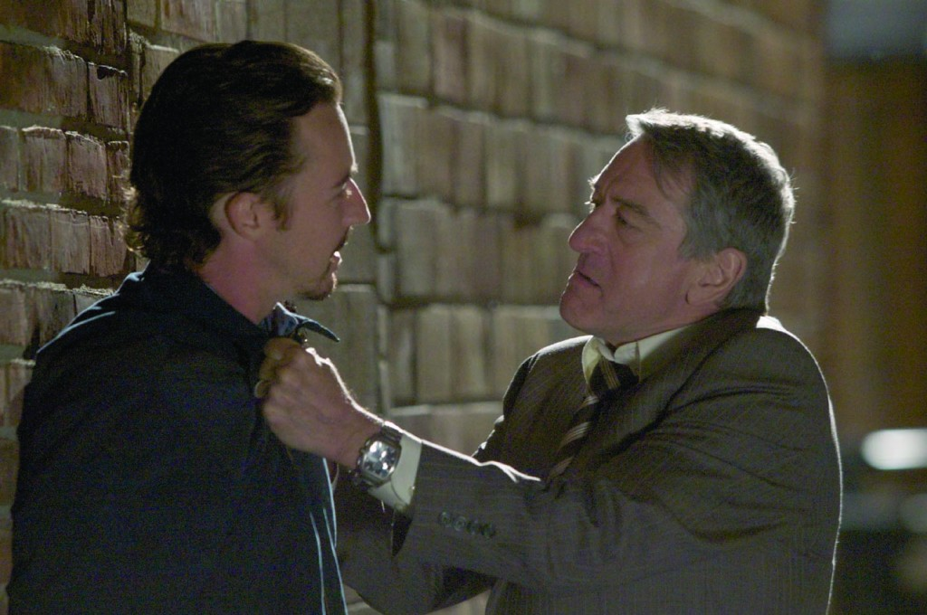Robert de Niro und Edward Norton in Stone
