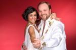 """Moritz A. Sachs (32), der Klausi Beimer aus der """"Lindenstraße"""", tanzt mit der Profitänzerin Melissa Ortiz-Gomez (28)"""