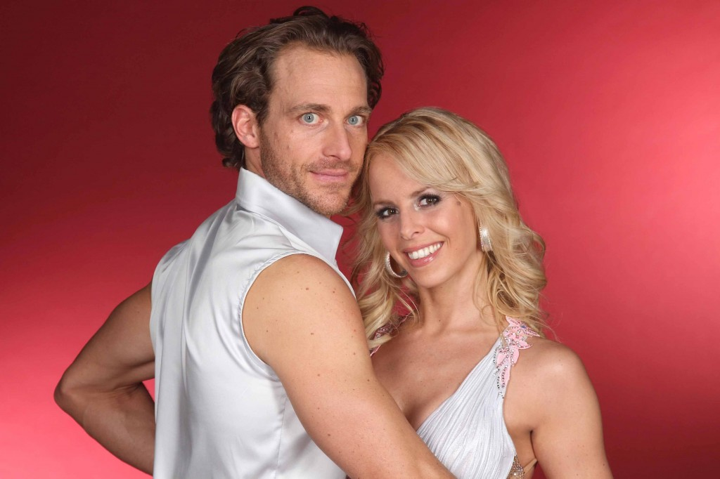 Tim Lobinger (38) tanzt mit der Profitänzerin Isabel Edvardsson (28)