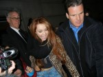 Miley Cyrus - Miley Cyrus Sighted Departing the Saturday Night Live Afterparty in New York City