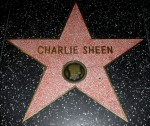 Charlie Sheen - Charlie Sheen's star on the Hollywood Walk of Fame
