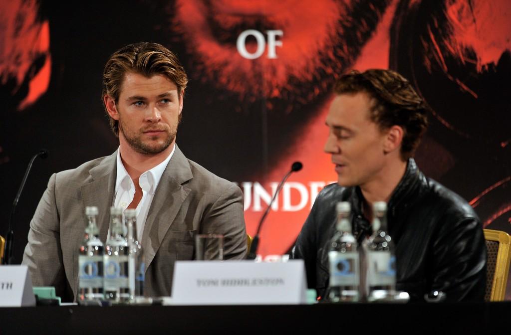Chris Hemsworth Presse Konferenz