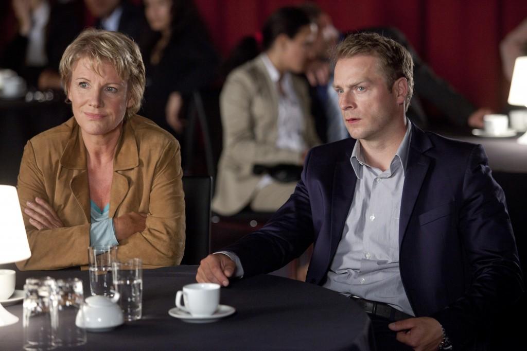 Marie Brand (Mariele Millowitsch) und Jürgen Simmel (Hinnerk Schönemann)