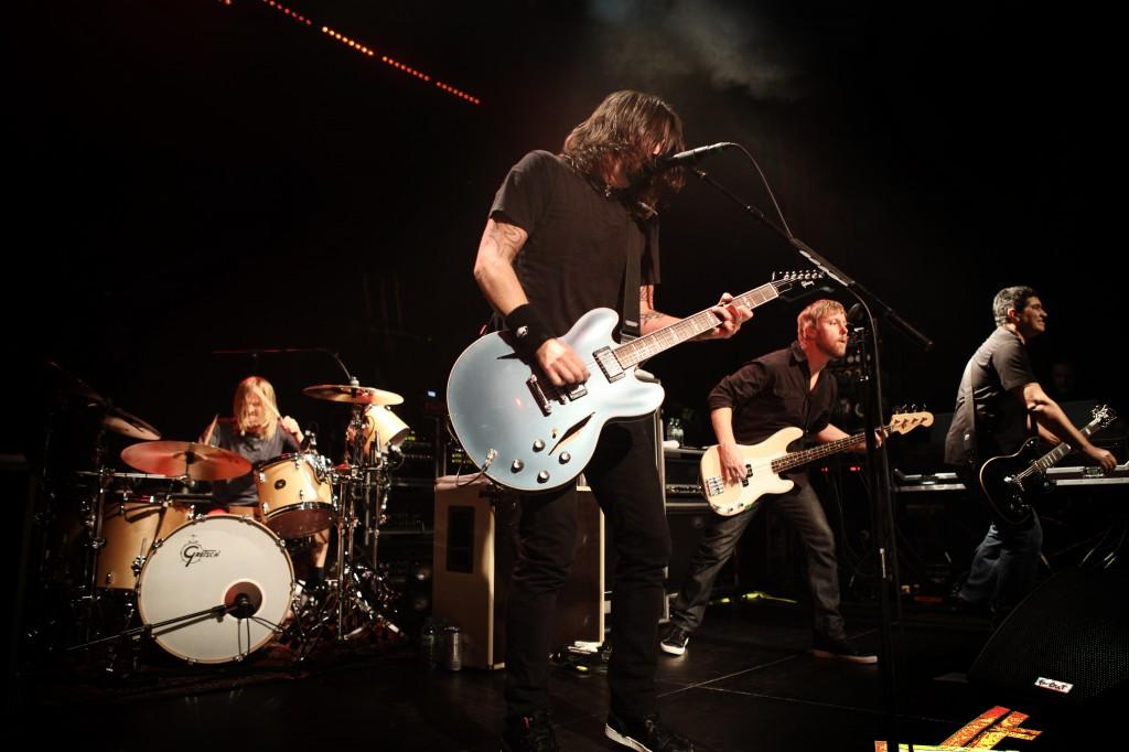 Foo Fighters - 1LIVE-Radiokonzert in Köln (28. Februar 2011, Gloria)