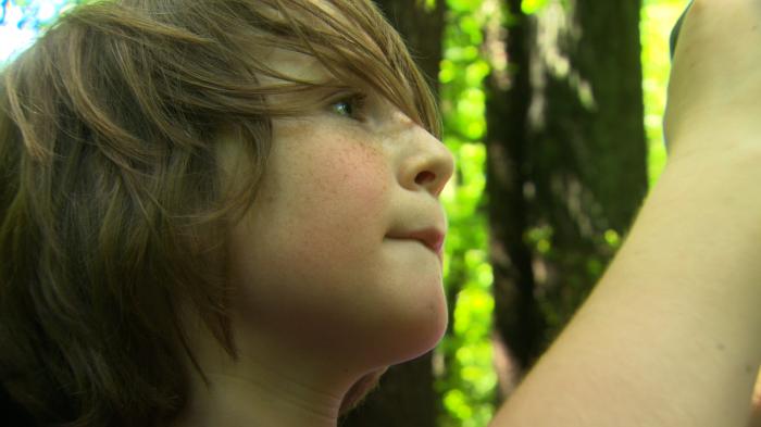 Können Erwachsene überhaupt glücklich sein? Für Luis Boschmann (11 Jahre) ist das schwer vorstellbar