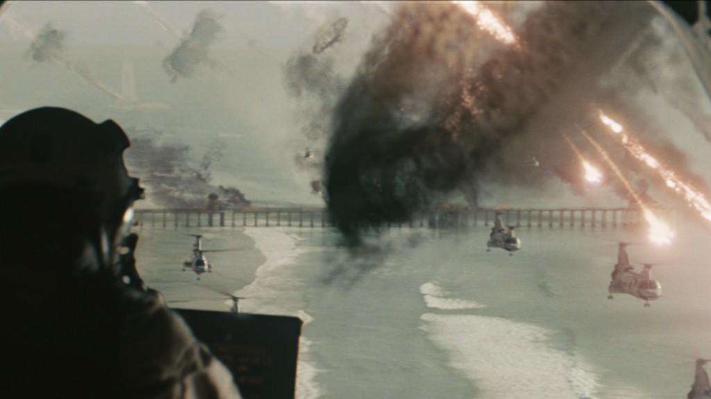 Eine Szene aus Sony Pictures' WORLD INVASION: BATTLE LOS ANGELES.