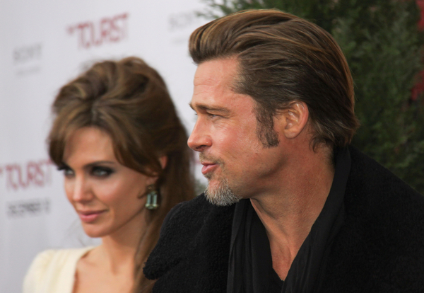 "Angelina Jolie and Brad Pitt - ""The Tourist"" World Premiere"