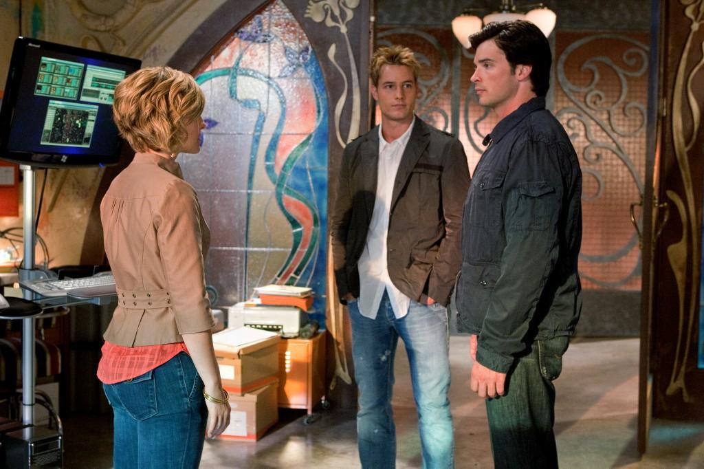Smallville Szene aus der neunten Staffel