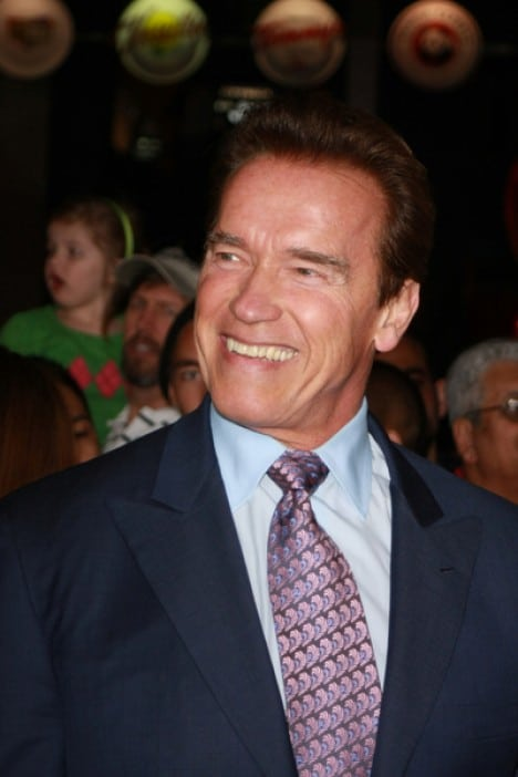"""Arnold Schwarzenegger - """"Nuclear Tipping Point"""" Los Angeles Premiere"""