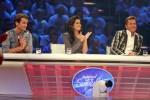 Die Jury: Patrick Nuo (li.), Fernanda Brandao und Dieter Bohlen.
