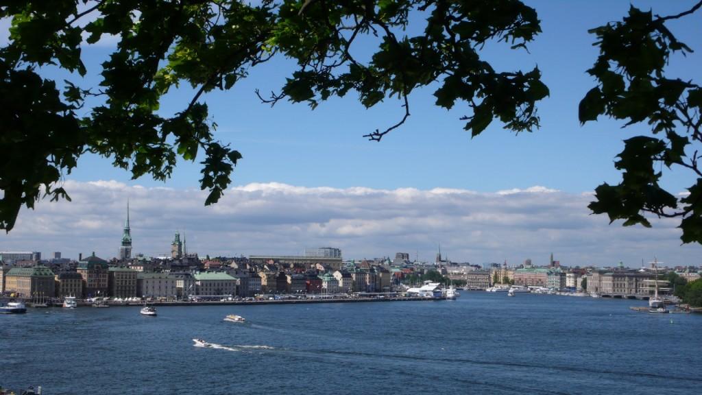 Stadtansicht von Stockholm