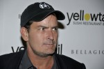 Charlie Sheen - Yellowtail Sushi Restaurant and Bar Grand Opening Celebration