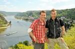 Holger Wienpahl mit Kai Pflaume unterwegs