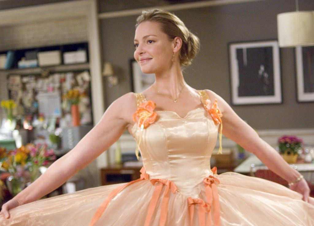 "Katherine Heigl in ""27 Dresses"""