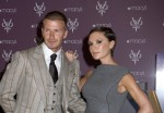 "David Beckham and Victoria Beckham Launch ""Beckham Signature"" Fragrance Collection at Macy's in New York on September 26, 2008"