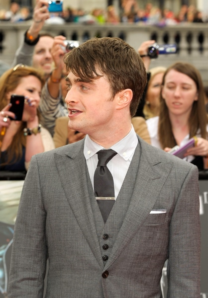 "Daniel Radcliffe - ""Harry Potter and the Deathly Hallows: Part 2"" World Premiere"