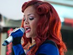 Rihanna in Concert on NBC's Today Show Summer Concert Series at Rockefeller Plaza in New York City on May 27, 2011