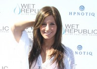 "Ashley Tisdale and the Cast of ""Hellcats"" Host ""Daylife Sundays"" at Wet Republic Pool in Las Vegas on October 3, 2010"