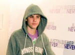 Justin Bieber Arrives for His Concert at Palacio De Deportes in Madrid on April 5, 2011
