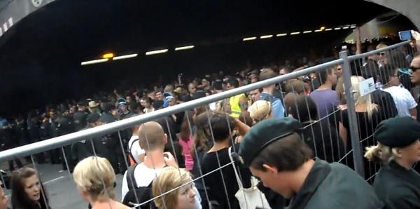 Amateuraufnahme vor der Massenpanik auf der Loveparade, Youtube, über dts Nachrichtenagentur