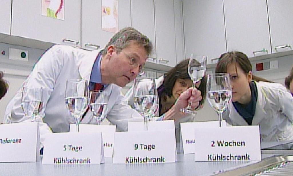 Prof. Guido Ritter (li.)