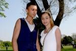 Frisch verliebt und bald verheiratet: Franco (17) und Djuliana (15).
