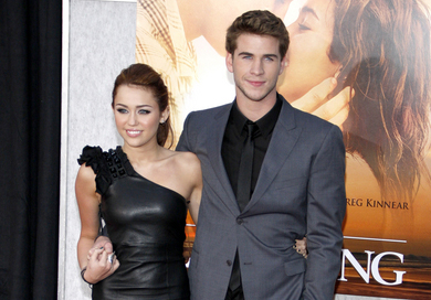 "Miley Cyrus and Liam Hemsworth - ""The Last Song"" World Premiere"