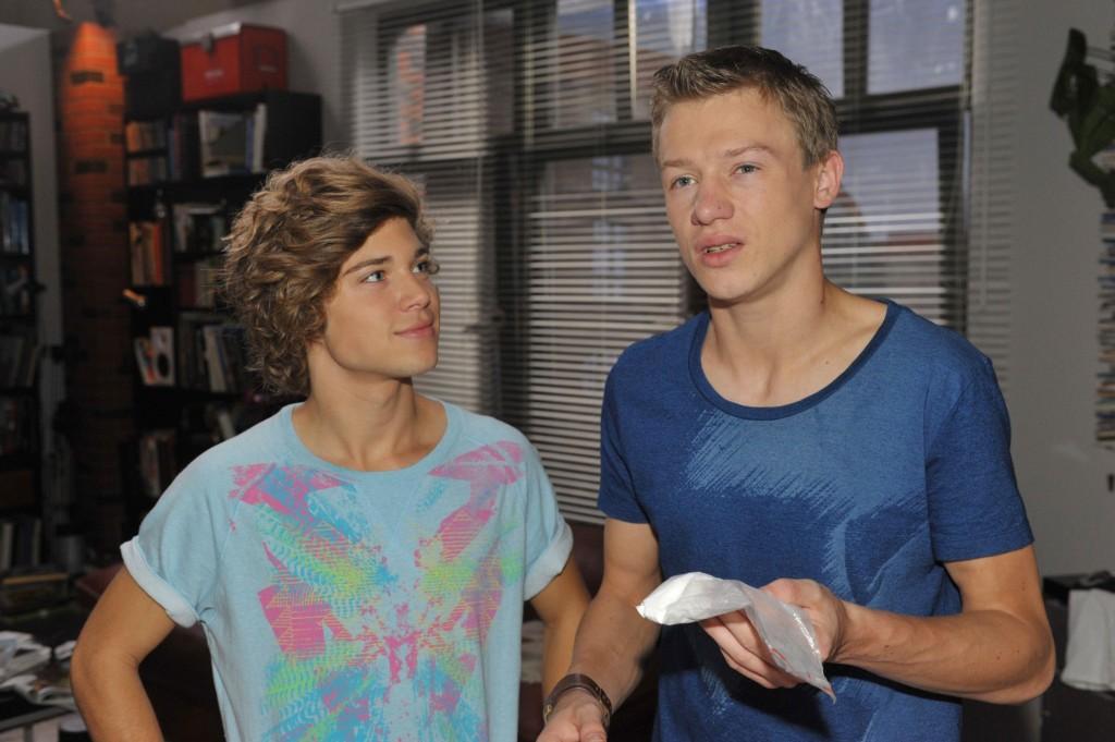 Zac (Jascha Rust, li.) und Vince (Vincent Krüger)