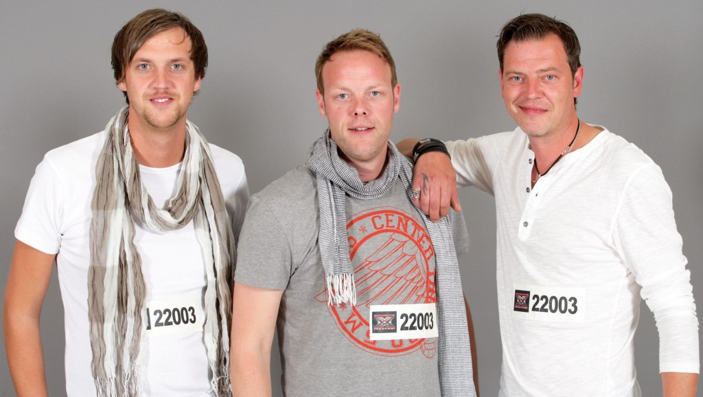"Showact ""Ord Brothers"" v.l.: Steven (29), Ricky (33), Maik (38)"