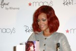 "Rihanna - Rihanna Launches Her ""Reb'l Fleur"" Fragrance at Macy's Lakewood Mall on February 18, 2011"