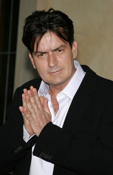 Charlie Sheen - Chrysalis' 5th Annual Butterfly Ball - The Italian Villa Carla and Fred Sands