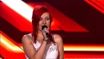 Kandidatin Eva Karadoukas aka Eva Delicious (26) bei X Factor 2011