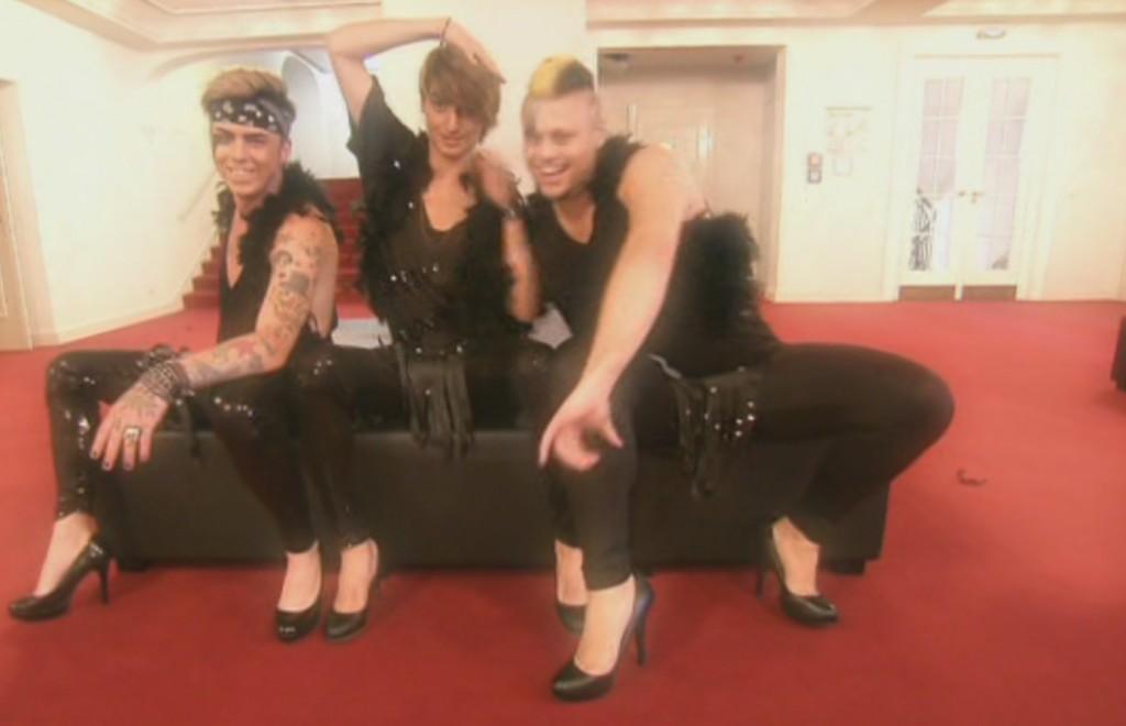 """Kevin Dufen, Pierre Mettbach und Zalem El-Zein bei """"Das Supertalent 2011"""""""