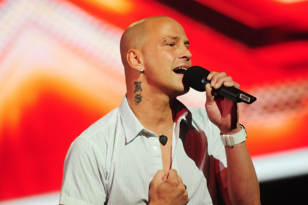 Kandidat Markus Schubert (38) bei X Factor 2011