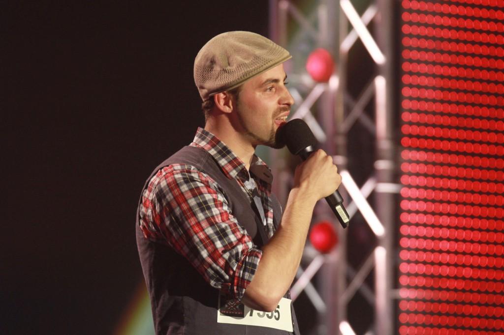 Kandidat Michael Schuppach (31) bei X Factor 2011