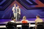 """Barne Heimbucher (18, l) und Sebastian Schmidt bei """"X Factor 2011"""""""