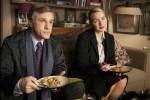 Szene aus Gott des Gemetzels mit Kate Winslet und Christopher Waltz