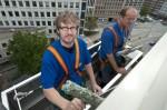 Geschäftsführer Andy Henning (li.) arbeitet unerkannt mit Heino Schnelzer zusammen