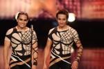 Die Brüder Roberto Emanuel Laurino (21, li.) und Maximilano Laurino (19) aus Las Vegas