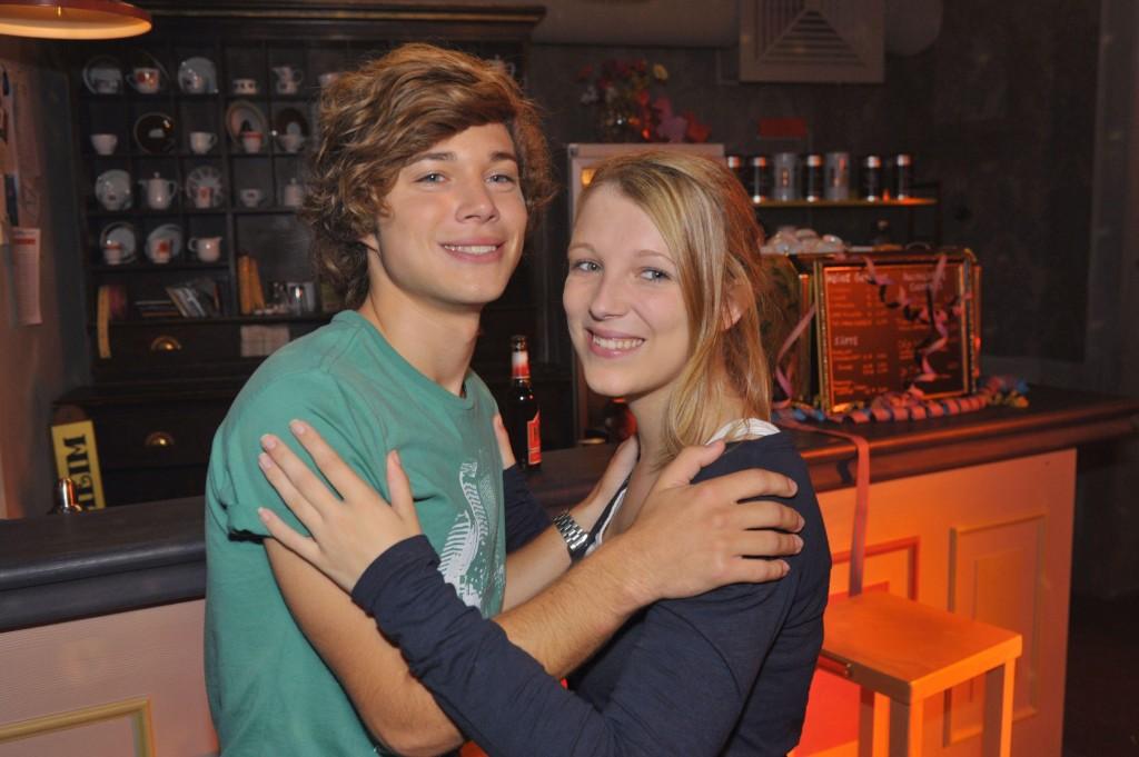 Iris Mareike Steen und Jascha Rust in GZSZ