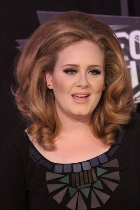 Adele - 2011 MTV Video Music Awards - Arrivals - Nokia Theatre L.A. Live