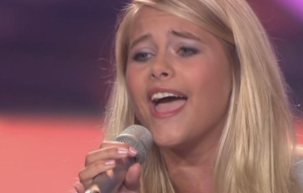 Fabienne Sophie Rothe bei Das Supertalent