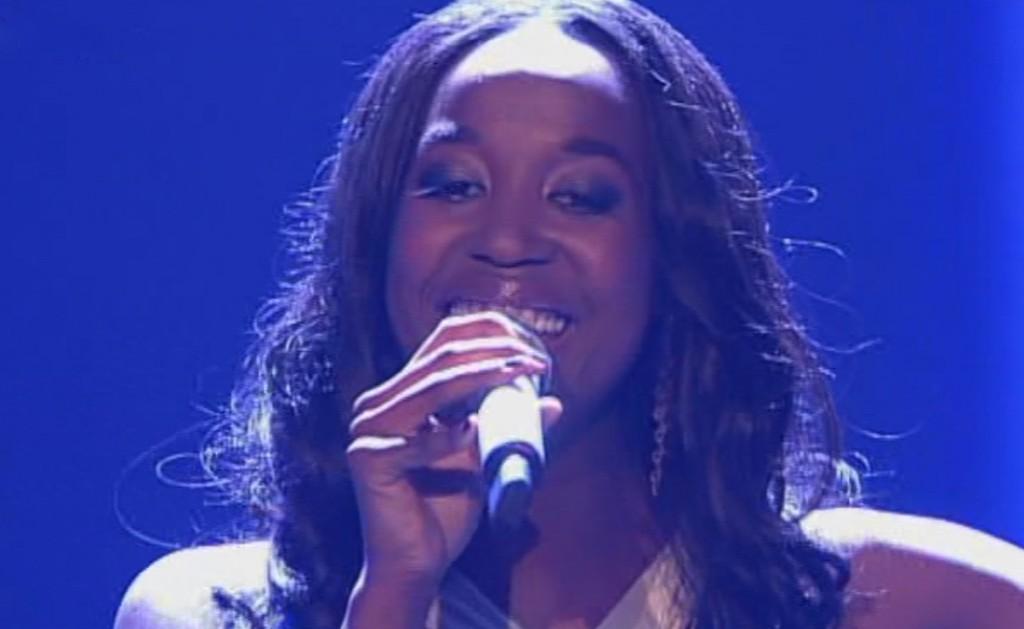 Gladys Mwachiti bei X Factor 2011 live