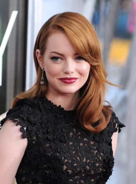 "Emma Stone - ""Crazy, Stupid, Love."" New York City Premiere - Arrivals"