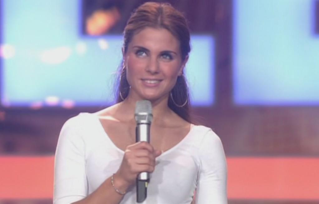 Silvia Amaru im Casting von Das Supertalent